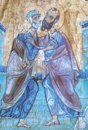 Pietro e Paolo Apostoli dans immagini sacre Pierre-et-Paul-I